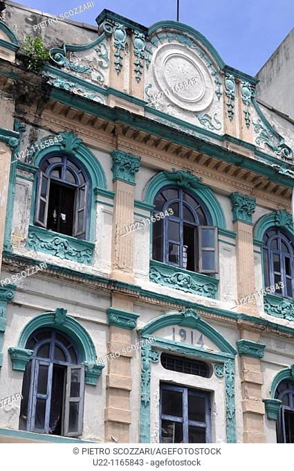 Kuala Lumpur (Malaysia): colonial building in the historical center