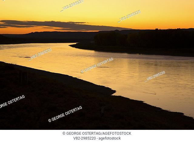 Yellowstone River, Terry, Montana