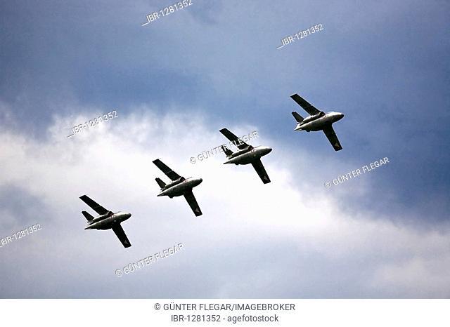 Military aerobatics team, Airpower 2009 in Zeltweg, Styria, Austria, Europe
