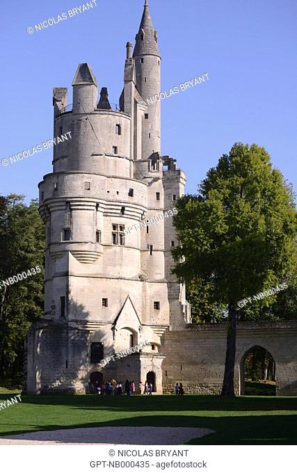 CHATEAU OF SEPTMONTS, AISNE, PICARDY, FRANCE
