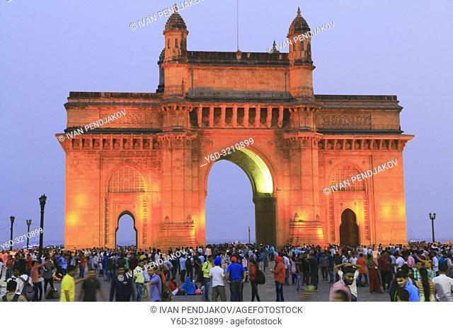 Gateway of India at Night, Mumbai, Maharashtra, India