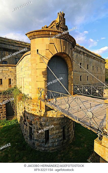 Fort of Rapitán. Jaca. Huesca province. Aragón. Spain