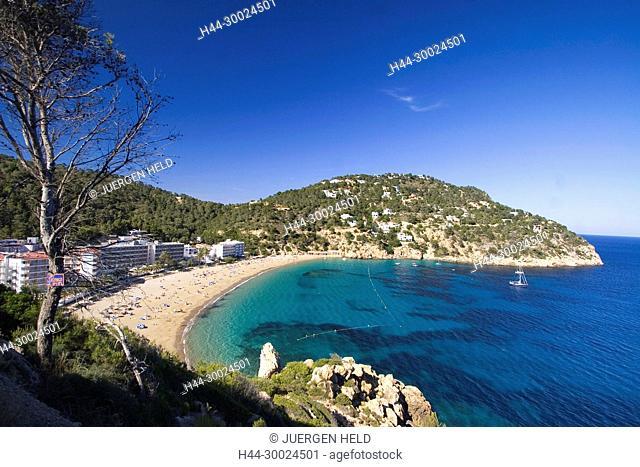 Ibiza beach , Cala de Sant Vicent, beach