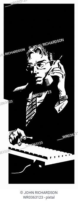 Intense Phone call