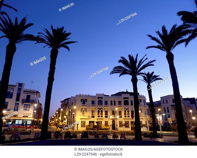 Place de la Libération, Larache, Morocco