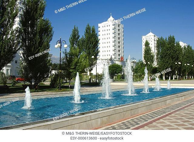 Residential buildings, Ashgabat, Turkmenistan