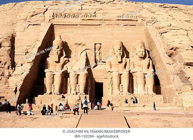 Temple of Abu Simbel, Nubia, Egypt, Africa