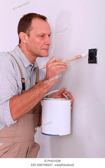 Around painting house Stock Photos and Images | age fotostock