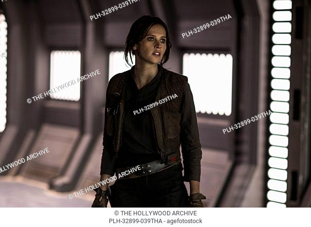 Felicity Jones in Rogue One: A Star Wars Story (2016) © 2016 - Lucasfilm Ltd. All Rights Reserved