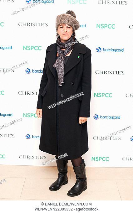 Paddington Trail auction held at Christie's in London - Arrivals Featuring: Tracey Emin Where: London, United Kingdom When: 10 Dec 2014 Credit: Daniel Deme/WENN
