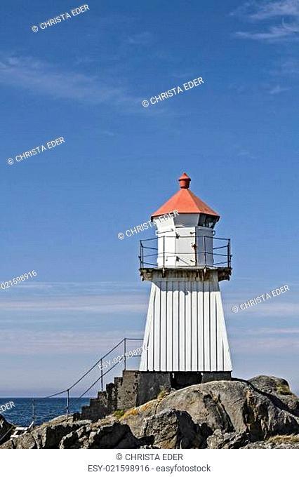 Leuchtturm auf Gimsoya