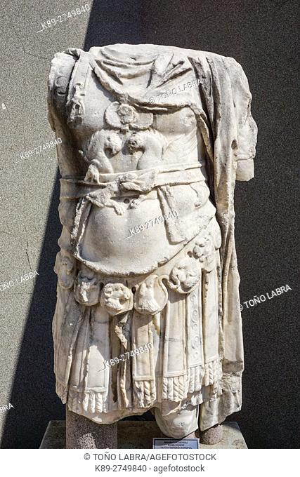 Strategos (Roman Period). Bergama Museum. Ancient Classic Greece. Asia Minor. Turkey