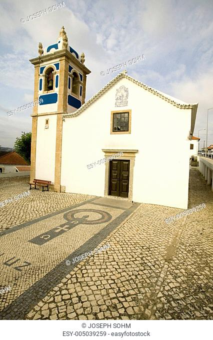 Old church in rural area of Portugal