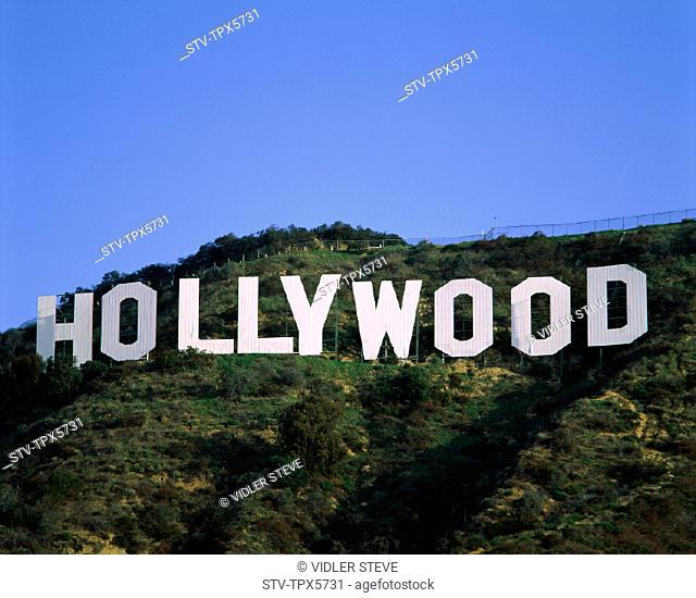 America, California, Holiday, Hollywood, Landmark, Los angeles, Sign, Tourism, Travel, United states, USA, Vacation