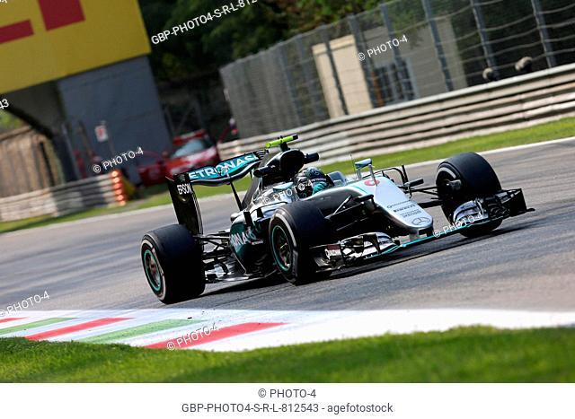 02.09.2016 - Free Practice 2, Nico Rosberg (GER) Mercedes AMG F1 W07 Hybrid