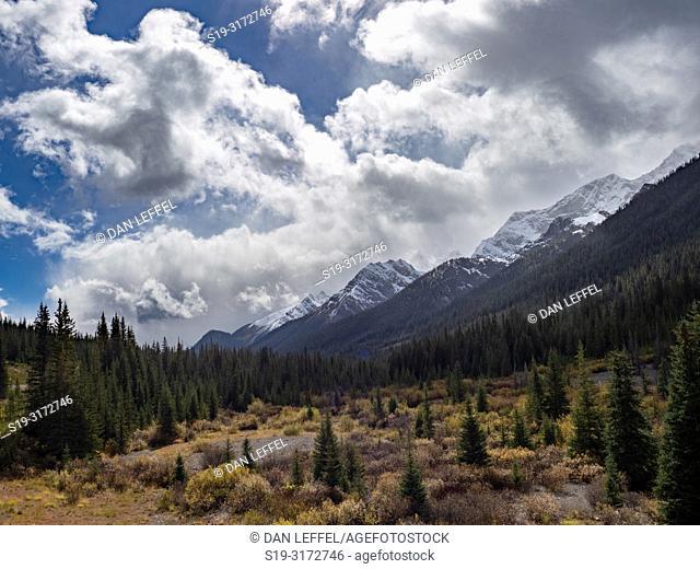 Canadian Rockies. Banff National Park View