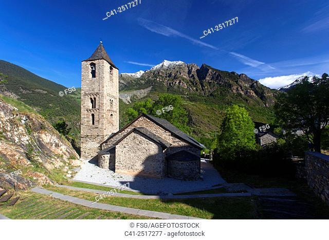 Church of Sant Joan de Boí. Boí. Lleida. Spain