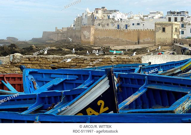 Marocco, Africa, Medina, Essaouira