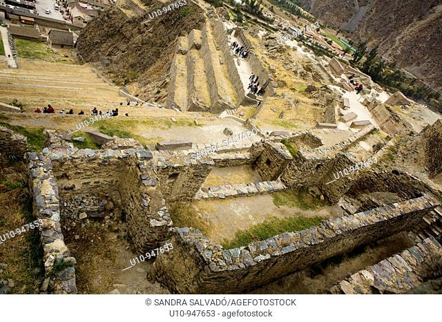 Archaeological site Ollantaytambo