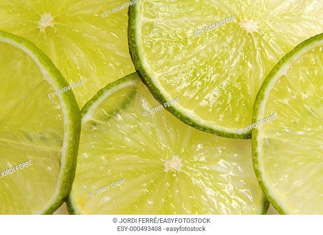 Lime slices, Rodajas de Lima