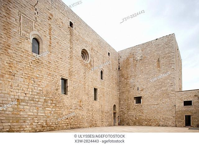 Swabian castle, Castle, Trani, Puglia, Italy, Europe