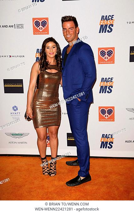 Celebrities attend 22nd annual Race To Erase MS at Hyatt Regency Century Plaza. Featuring: Allison Baver, Devin Alexander Where: Los Angeles, California