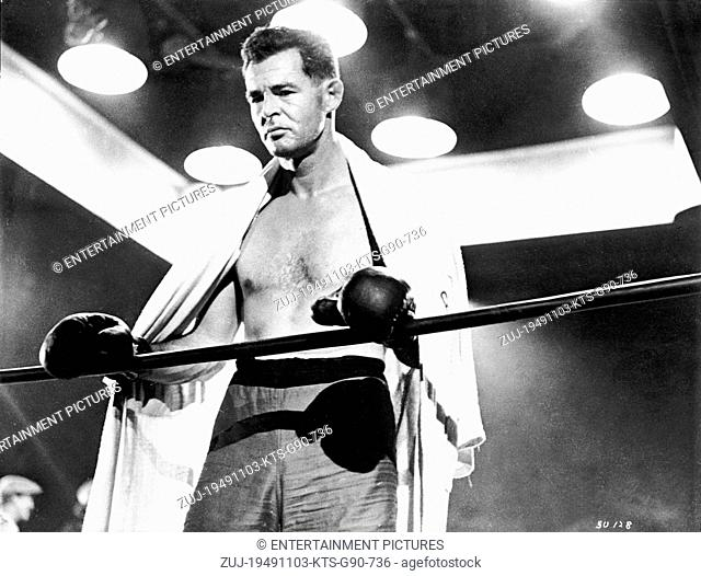 RELEASED: March 03, 1949 - MOVIE FILM TITLE: The Set-Up - PICTURED: ROBERT RYAN. (Credit Image: © Entertainment Pictures/Entertainment Pictures/ZUMAPRESS