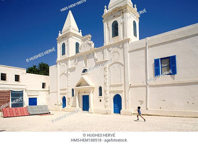 Tunisia, Djerba, Houmt Souk, Christian Church