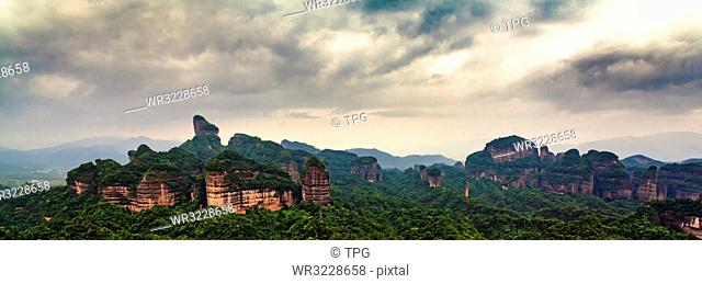 Sangma Peak of Danxia Mountain;Shaoguan; Guangdong; China