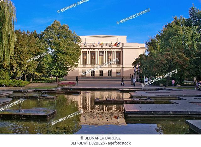 Ignacy Jan Paderewski Pomeranian Philharmonic. Bydgoszcz, Kuyavian-Pomeranian Voivodeship, Poland