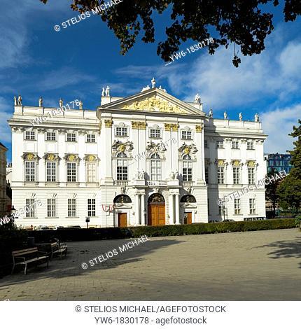 Palais Trautson, Vienna, Austria, Europe