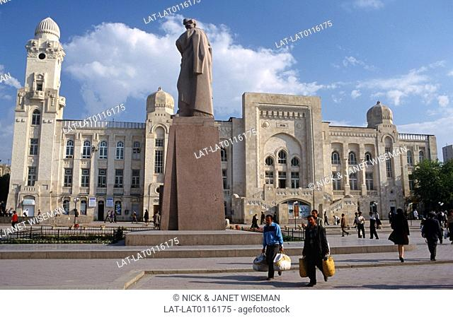 Baku is the capital and the largest city in Azerbaijan. the Steam Railway station is a historic building in Islamic architectural style and there is a large...