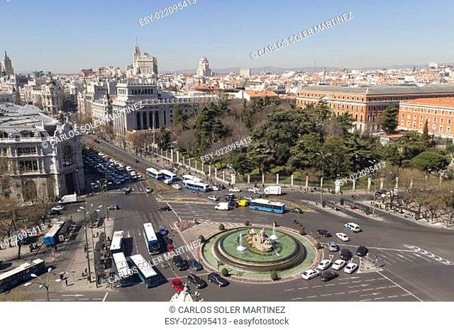 Plaza de la Cibeles (Cybele&#039 s Square)