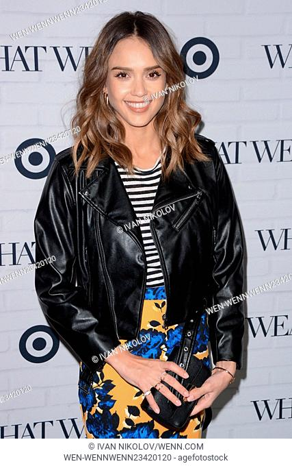 5ecddc3843 Who What Wear And Target Launch Party - Red Carpet Arrivals Featuring: Jessica  Alba Where