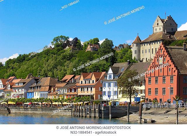 Meersburg, Castle, Lake Constance Bodensee, Baden-Wuerttemberg, Germany, Europe