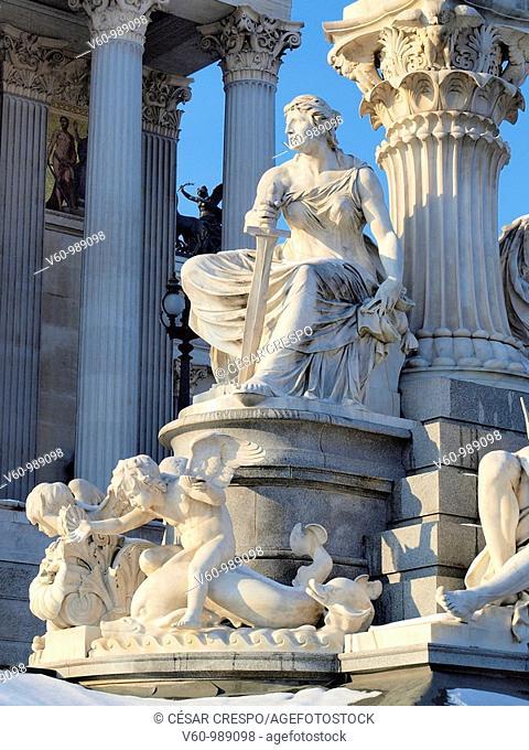 -Parlament in Wien- Austria