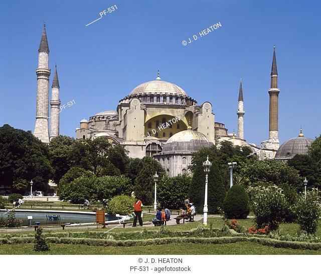 Turkey. Istanbul. Sancta sophie mosque