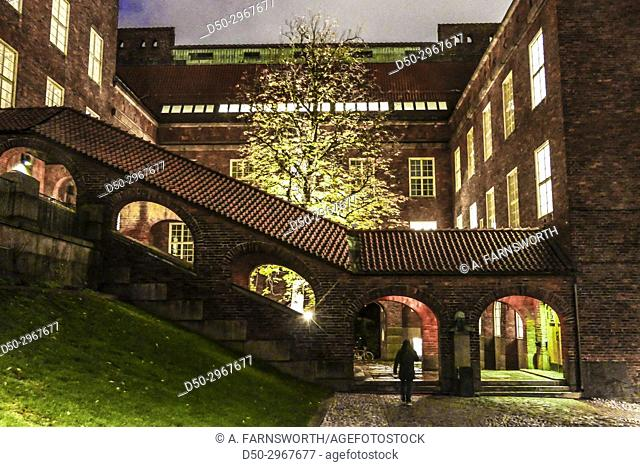 Campus, KTH, The Royal Institute of Technology. Stockholm, Sweden