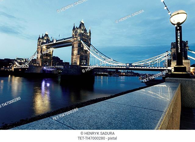 Tower Bridge from embankment