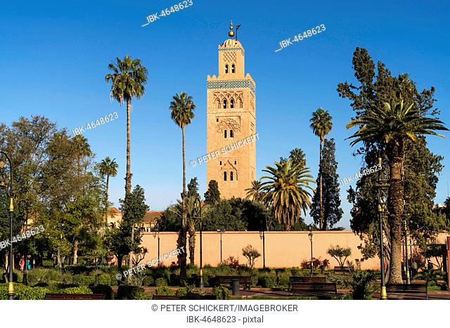 Minaret of the Koutoubia Mosque, Morocco