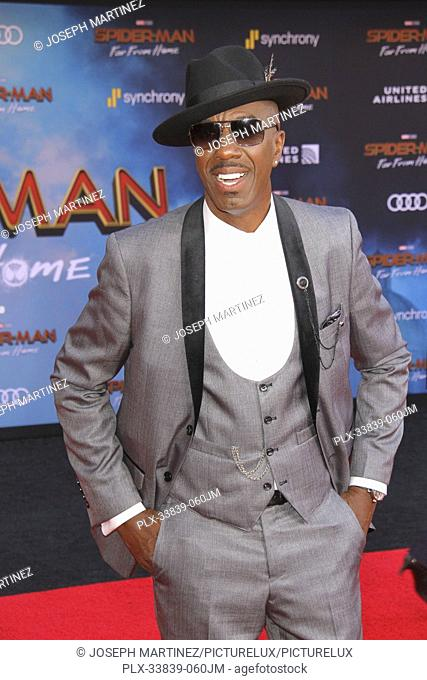 """J. B. Smoove at Columbia Pictures' and Marvel Studios' """"""""Spider-Man Far From Home"""""""" World Premiere held at the TCL Chinese Theatre in Hollywood, CA, June 26"""
