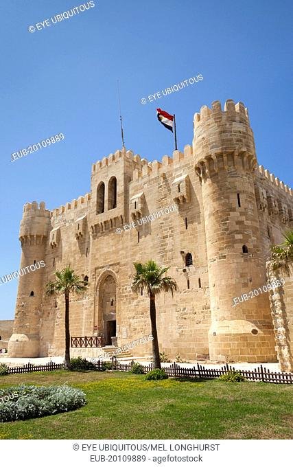 Citadel of Qaitbay, also known as Fort of Qaitbay