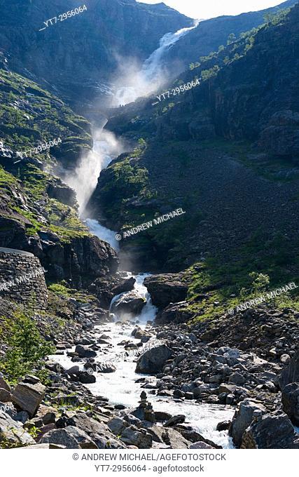 Trollstigen near Andalsnes, Norway, Scandinavia, Europe