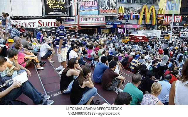 42nd Street, Times Square, New York City, Midtown, Manhattan, USA