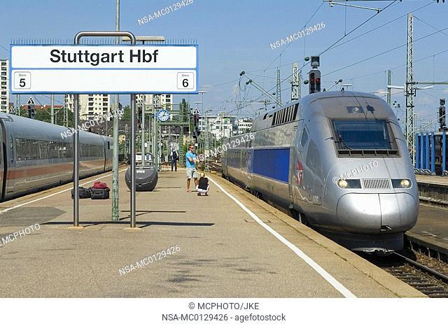 Stuttgart - central station