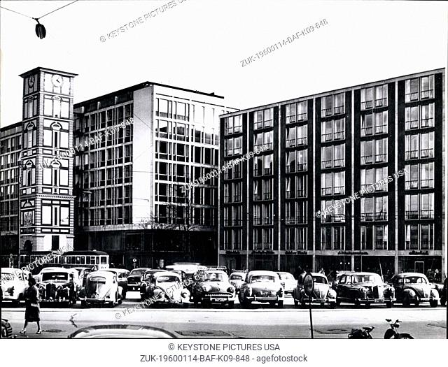 1966 - The 'Maxburg' one of the most modern building complexes of Munich. It has been build at the place of a princely palais, destroyed during the war