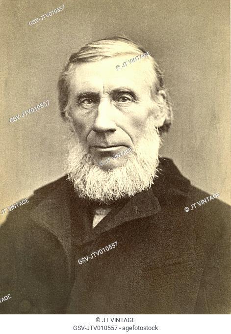 John Tyndall (1820-93), Irish Physicist, Medical Educator, Portrait, 1880's