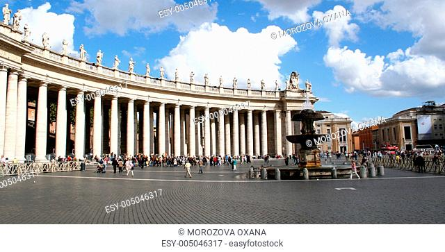 Italy. Rome. Sacred Peter and Paul's Cathedral