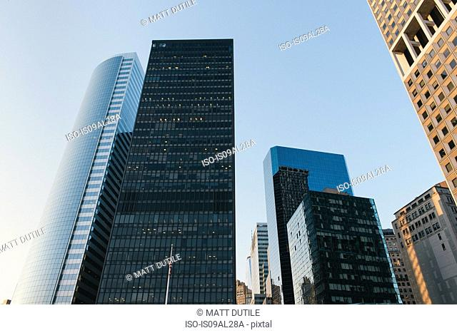 Financial district, New York, USA