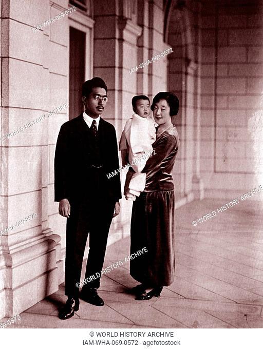 Emperor Akihito and Empress Michiko of Japan 1989, Stock